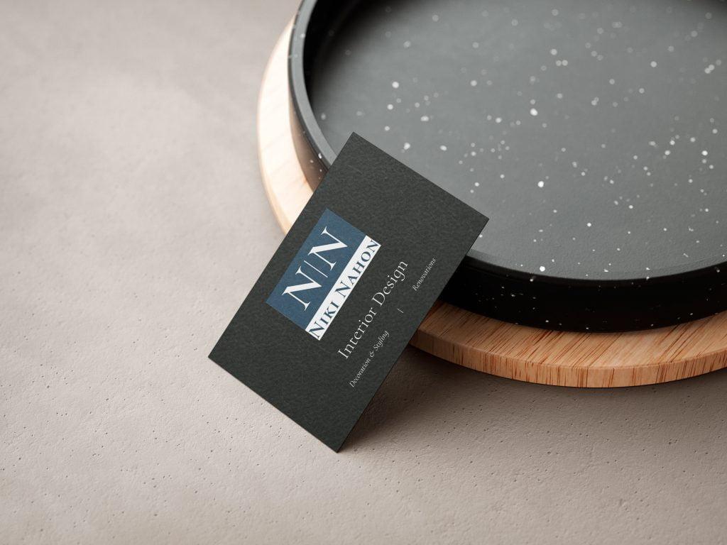 Visiting Cards - Niki Nahon